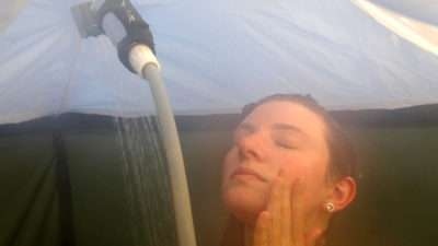 Portable Camp Shower WA