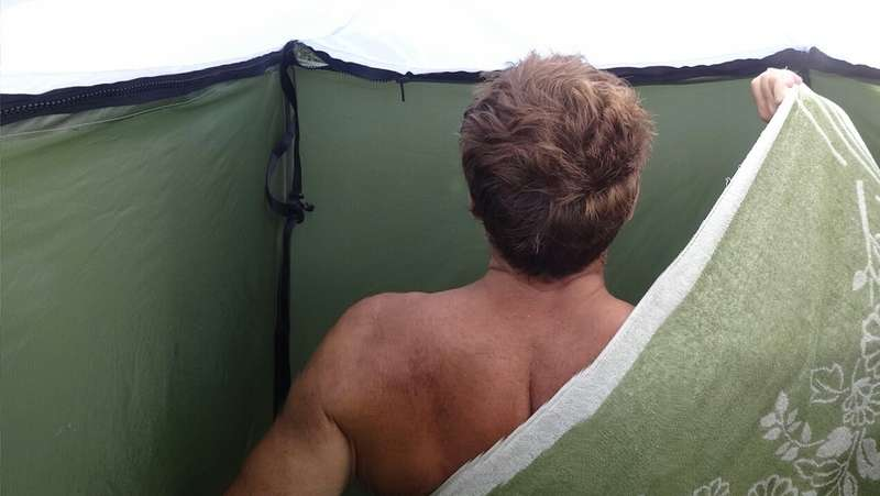 Portable Camping Hot Shower