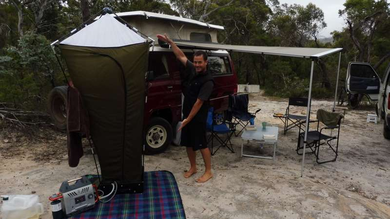 Portable Camping Shower Online Melbourne
